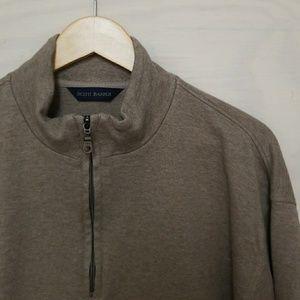 Scott Barber 1/4 Zip Sweater XL